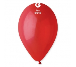 Balionai / raudoni pasteliniai (10vnt./28 cm.)