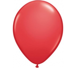 Balionai, raudoni pasteliniai (25 vnt./28 cm.)