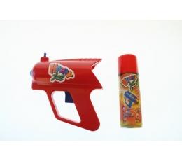 Raudoni serpantinai su pistoletu (1vnt./125ml.)