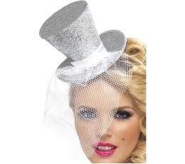 Sidabrinė skrybėlaitė su tinkleliu (1 vnt)