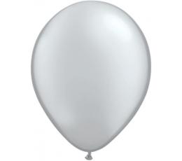 Balionai, sidabriniai perlamutriniai  (100vnt./28cm.)