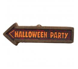 "Sienos dekoracija ""Halloween party"" (1 vnt./56 cm.)"