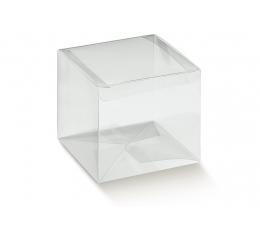 Skaidri dovanų dėžutė (1 vnt./60x60x60 mm.)