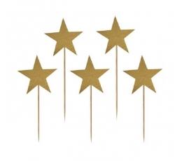 """Smeigtukai """"Auksinės žvaigždutės"""" (10 vnt./7.5 cm.)"""