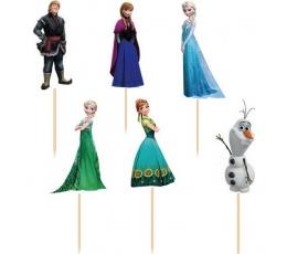 "Smeigtukai užkandžiams ""Frozen"" (12 vnt./11 cm.)"