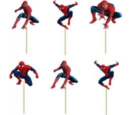 """Smeigtukai užkandžiams """"Žmogus voras"""" (8 vnt./9 cm.)"""