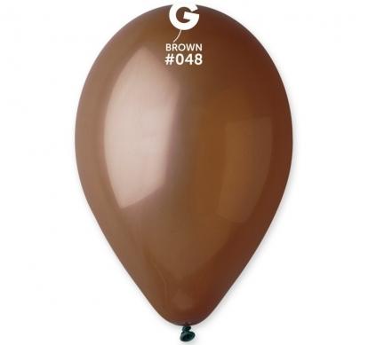 Balionai, šokoladinės spalvos (10vnt./28 cm.)
