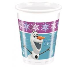 """Stiklinaitės """"Frozen -Šiaurės pašvaistė"""" (8vnt./ 200 ml.)"""
