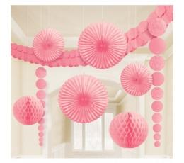 Šv. rožinių dekoracijų rinkinys