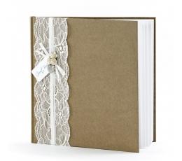 Svečių palinkėjimų knyga (22 lapai)