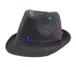 Šviečianti kepurė / juoda