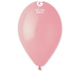 Šviesiai rožiniai pasteliniai balionai (100vnt./28 cm. G110)