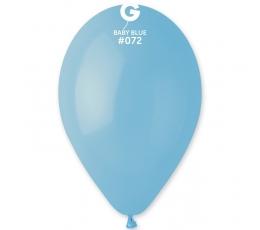 Šviesiai žydri pasteliniai balionai (10vnt./30 cm. G110)