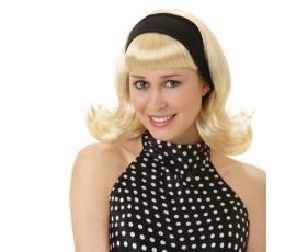 Šviesių plaukų perukas (1 vnt.)