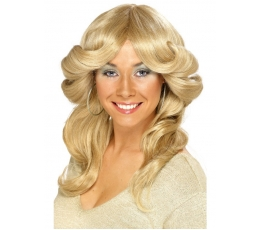 Šviesių plaukų perukas / banguotas