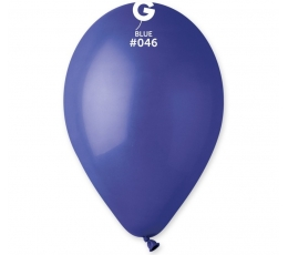 Tamsiai mėlyni pasteliniai balionai (100vnt./28 cm. G110)