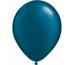 Tamsiai mėlyni perlamutriniai balionai (100vnt./28cm.Q11)