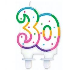 """Torto žvakutė """"30"""" (1 vnt.)"""