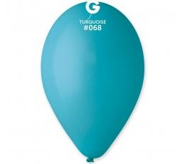 Turkio spalvos pasteliniai balionai (100vnt./28cm. G110)