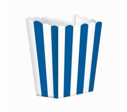 Užkandžių dėžutės/mėlynos (5 vnt./6.3*13.4*3.8 cm)