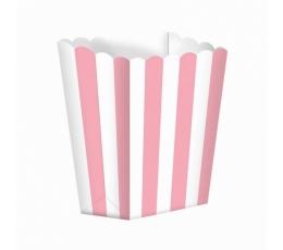 Užkandžių dėžutės/šviesiai rožinės (5 vnt./6.3*13.4*3.8 cm)