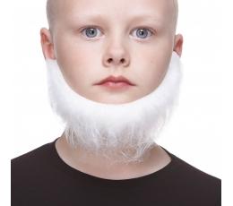 Vaikiška dirbtinė barzda / balta (S141-LG)