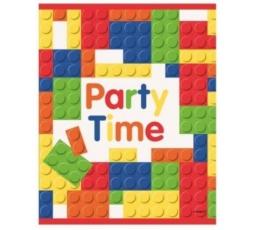 "Vaišių maišeliai ""Lego"" (8 vnt./22.5 cm. x 18 cm.)"