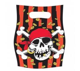 """Vaišių maišeliai """"Piratai"""" (6vnt./17x23 cm)"""