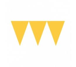 Vėliavėlių girlianda / geltona (4.5 m.)