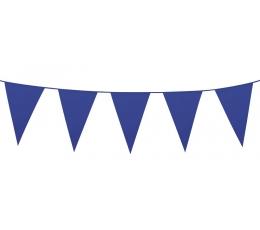 Vėliavėlių girlianda / mėlyna (10 m.)