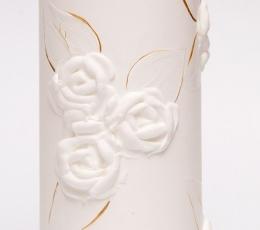 """Vestuvių metinių žvakė """"Cilindras"""" (7 x 20 cm.) 1"""