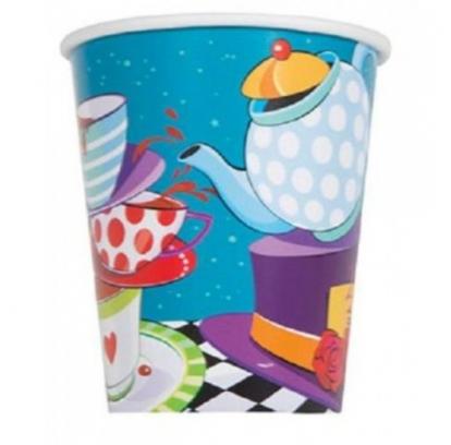 """Vienk. puodeliai """"Alisa stebuklų šalyje"""" (8vnt./270 ml)"""