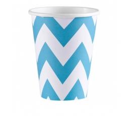 "Vienk. puodeliai ""Melsvi vingiai"" (8 vnt./266 ml.)"