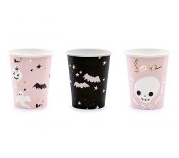 """Vienkartiniai puodeliai """"Boo!"""" (6 vnt./220 ml.)"""