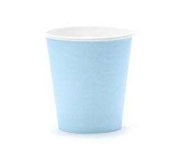 Vienkartiniai puodeliai / melsvi (6 vnt./ 180 ml.)