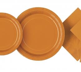 Stalo įrankių rinkinys, oranžinis (6-iems) 1