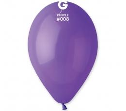 Violetiniai pasteliniai balionai (100vnt./28cm. G110)