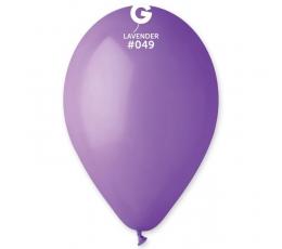 Violetiniai pasteliniai balionai (10vnt./28 cm.)