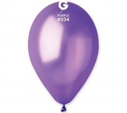 Balionai, perlamutriniai violetiniai (100vnt./28cm.)
