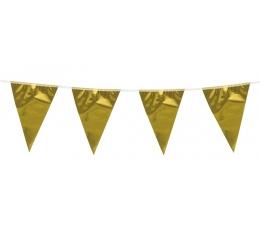 XL Vėliavėlių girlianda / auksinė (10 m.)