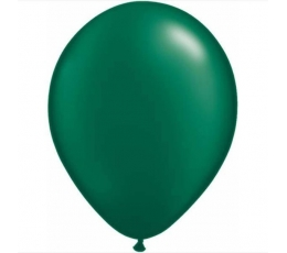 Balionai, perlamutriniai žali (25 vnt./28 cm.)