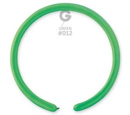 Modeliavimo balionai, pasteliniai žali (100 vnt.)