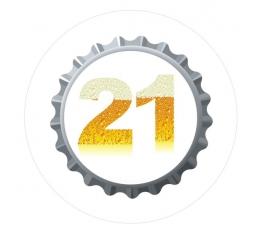 """Ženkliukas. Alučio mėgėjui """"21"""" (7.7 cm.)"""