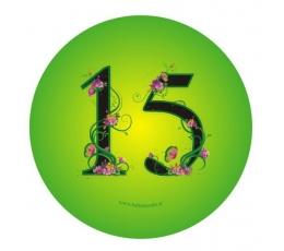 """Ženkliukas. Gėlės """"15"""" (7.7 cm.)"""