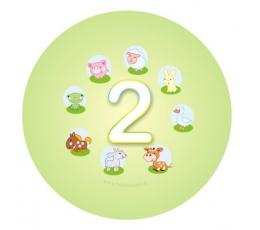 """Ženkliukas. Gyvūnėliai """"2"""" (5.5cm.)"""