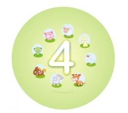 """Ženkliukas. Gyvūnėliai """"4"""" (5.5cm.)"""