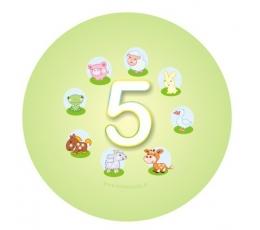 """Ženkliukas. Gyvūnėliai """"5"""" (5.5cm.)"""