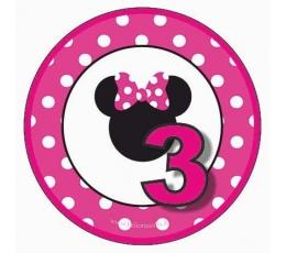 """Ženkliukas Minė """"3"""" (5.5 cm.)"""