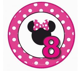 """Ženkliukas Minė """"8"""" (7.7cm.)"""