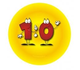 """Ženkliukas. Skaičiai-žmogeliukai""""10"""" (7.7 cm.)"""